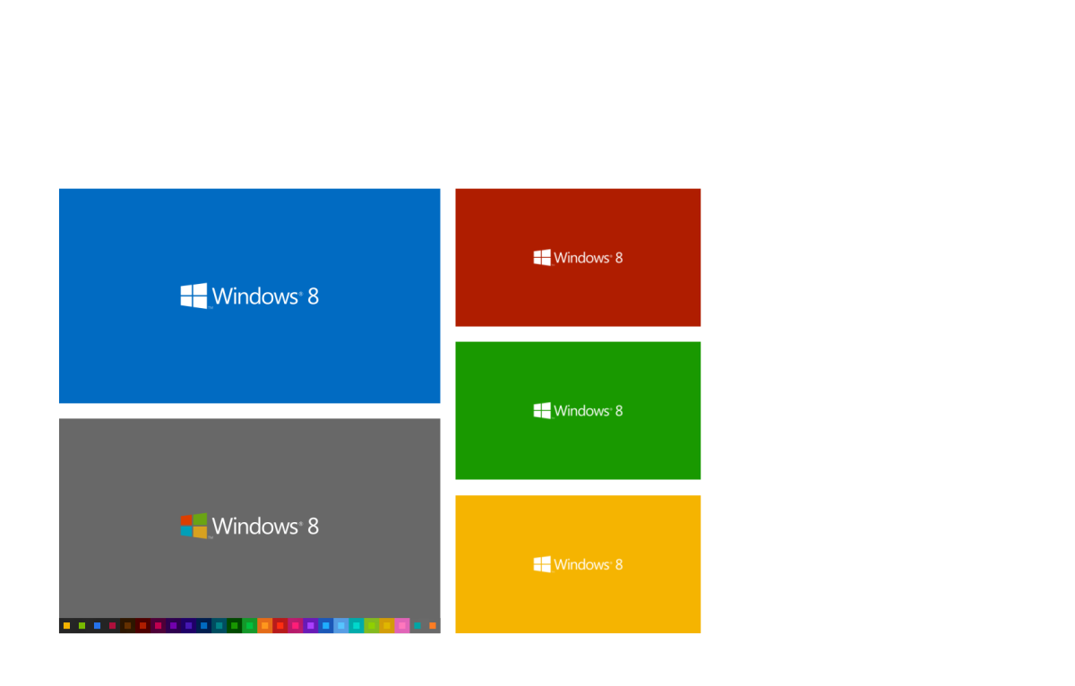 windows 8 metro color wallpaper pack